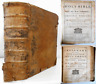 1770 HOLY BIBLE Old New Testaments Apocrypha Book of Psalms