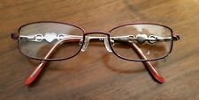 JUICY COUTURE JU903 RED Wire Rims Girls Optical Eyeglass Frames 44 -16 -120