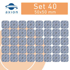 40 TENS Elektroden 45x45mm Sparset passend EMS TENS Gerät SANITAS SEM BEURER EM