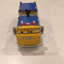 Disney Pixar Planes Pulaski Truck Diecast Metal 1:55 Scale EUC Fire & Rescue