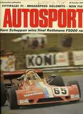 Autosport October 24th 1974 *Brands Hatch F5000 & Emerson Fittipaldi*