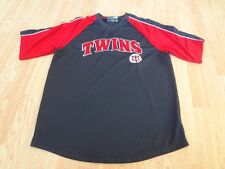 Men's Minnesota Twins M (38/40) Warmup Jersey Pullover True Fan Jersey