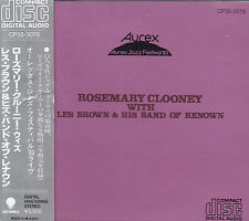 Rosemary Clooney with Les Brown & His Band of R. - CD-AUREX Jazz Festival'83