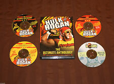 WWE-HULK HOGAN SPECIAL EXCLUSIVE 4 DISC DVD HOGAN KNOWS BEST RARE OOP!