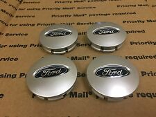 NEW FORD SET 4 CENTER WHEEL WHEELS RIM RIMS CAP CAPS HUB HUBS LOGO 67MM GRAY