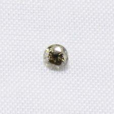 Echter Champagner Diamant mit Brilliantschliff 0.005ct 1.0-1.2mm