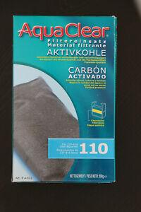 AquaClear 110 Activated Carbon. A-622 Aquarium Media Filter Insert 9 oz.