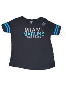 Women's Miami Marlins Shirt Medium