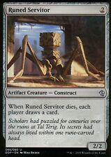 4x runed servitor | nm/m | Zendikar vs. eldrazi | Magic mtg