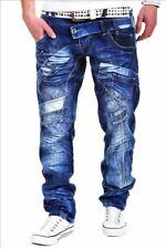 KOSMO LUPO Designer Herren Jeans Hose Japan Style Denim NEU! KM030