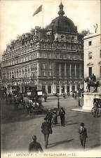 London W.C. The Carlton Hotel # 72 by LL / Levy. Black & White.