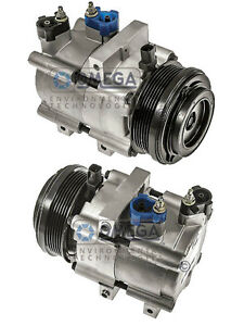 New AC A/C Compressor Fits: 2007 2008 2009 Ford Mustang V8 4.6L ONLY