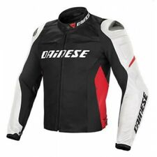 Dainese Racing D1 Leather Jacket Mens Motorcycle Motorbike Track SALE NEW