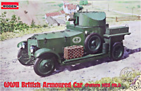 Roden 731 - British Armored Car Pattern - 1/72 scale model airplane kit 68 mm