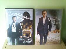 LOTE DVD JAMES BOND 007 CASINO ROYALE Y QUANTUM OF SOLACE