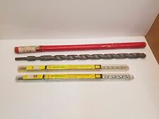 "Lot 3 Carbide tipped Masonry Drill Bits Dayton 1""x 23"", Hanson 1/2"" 5/8"" x 18"""