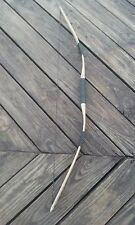 """48""""traditional wooden longbow handmade hickory wood bow and arrow"""