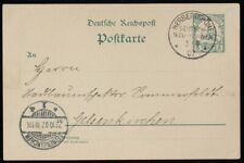 NEW GUINEA - GERMAN : 1907 Use of Yacht 5pf Postcard. To Germany.