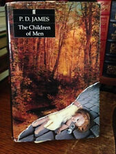 THE CHILDREN OF MEN 1st BY P.D. JAMES in dj warmly inscribed
