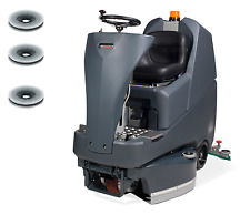Numatic TTV678/300G Aufsitz Scheuersaugmaschine Reinigungsmaschine + Bürsten