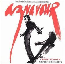 Charles Aznavour • Greatest Golden Hits • Original English Language Recordings