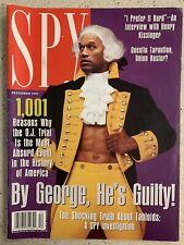 Spy Magazine December 1995 - OJ Simpson Tarantino Kissinger