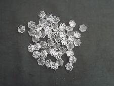 Pretty 50 16mm glass snowflake chandelier drops(D142)