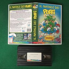(VHS) IL NATALE DEI PUFFI 2 Avventure , Cinehollywood (1998) Peyo CHV 7486