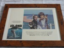 Framed Lobby card Front house Press Promo photo 16x12 The island ennio morricone