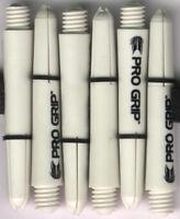 1.5in. 2ba White TARGET Pro Grip Dart Shafts & Springs: 1 set of 3