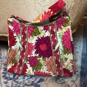 "12""  Vera Bradley Tote Bag Retired Pattern Hello Dahlia! NWOT"