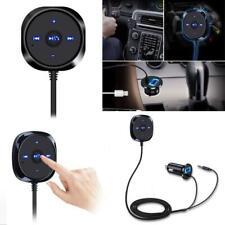 Wireless Bluetooth Audio Musik Empfänger Stereo 3.5mm AUX Car Adapter Magnetisch