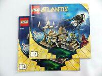 Notice LEGO ATLANTIS Manuels d'instructions montage réf :8061