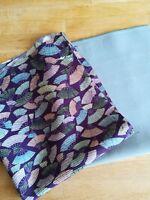 Vintage Japanese Kimono Silk Fabric Great for Crafting