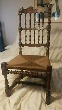 17th century walnut Scottish turners chair