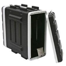 Valises, caisses et sacs noirs en plastique rigide pour équipement audio et vidéo professionnel