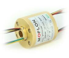 """MT1256 SLIP RINGS WITH BORE SIZE 12.7mm(0.5""""),12 wires/10A each,MOFLON slip ring"""