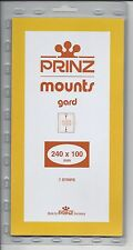Package of 7 Prinz BLACK Mounts 240 x 100