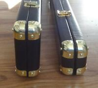 Leather Cue Case Corner Protectors to protect your expensive leather cue case.