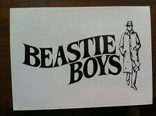 Beastie Boys sticker promo for the Mix Up cd 2007 Rare