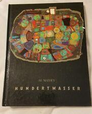 J.F. Mathey friedrich Hundertwasser 1985 art book rare