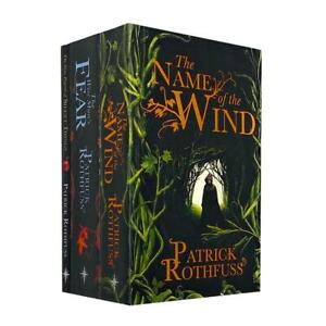 The Kingkiller Chronicle Series 3 Books Collection Set by Pat | Patrick Rothfuss