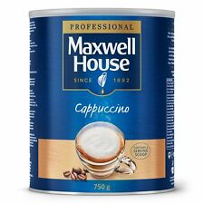 Maxwell House Instant Cappuccino 750 g Tin