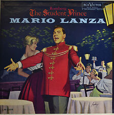 "THE STUDENT PRINCE - MARIO LANZA  12""  LP  (Q318)"