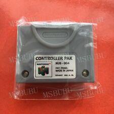 N64 Controller Pak NUS-004 OEM Official Nintendo 64 Memory Card - Tested & Works