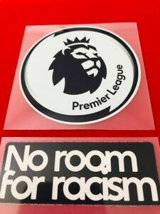 Premier League EPL Patch, Winner + No Room For Racism , EPL + No Room For Racism