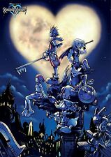 Square-Enix - Kingdom Hearts wallscroll 105 x 77 cm