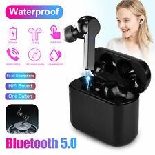 True Wireless TWS Bluetooth 5.0 Headphone Stereo In-Ear Earphone Headset Earbuds