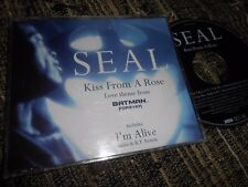 SEAL BATMAN FOREVER BSO OST KISS FROM A ROSE/I'M ALIVE/+1 CD EP 1995 GERMANY