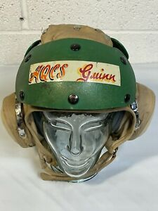 1979 VA-87 Painted Flight Deck Crew Helmet Impact 7 1/4 Crewman David Clark